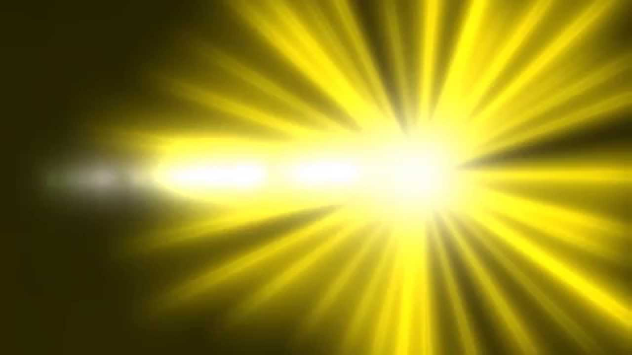 Lens Flare ANIMATION FREE FOOTAGE HD Yellow Black ...