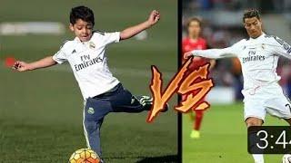 Cristiano Ronaldo 39 nun Oğlu Babası Gibi Efsanemi Oluyor