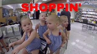 Repeat youtube video WHAT ITS LIKE TO GROCERY SHOPPING WITH QUADRUPLETS