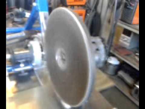 cin p dalant montage de la roue d 39 inertie youtube. Black Bedroom Furniture Sets. Home Design Ideas