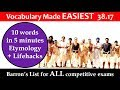 vocabulary made EASIEST 38.17 learn etymology by puneet biseria in hindi
