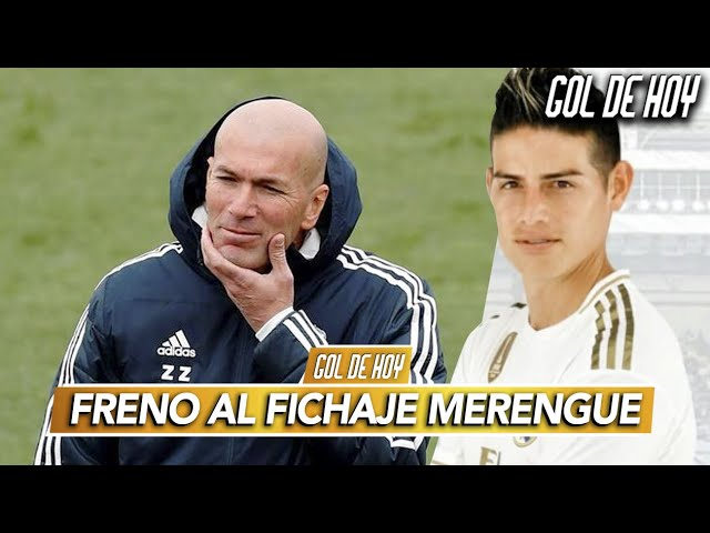 """ZIDANE frena el ÚLTIMO fichaje MADRID, """"AHORA CUENTA CON JAMES"""" I #goldehoy"""