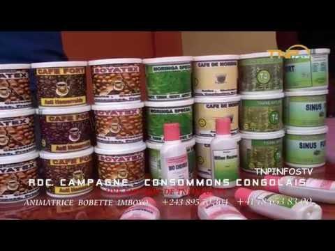 RDC  Campagne  Made in Congo  pour promouvoir les produits consommons - BIO local congolais