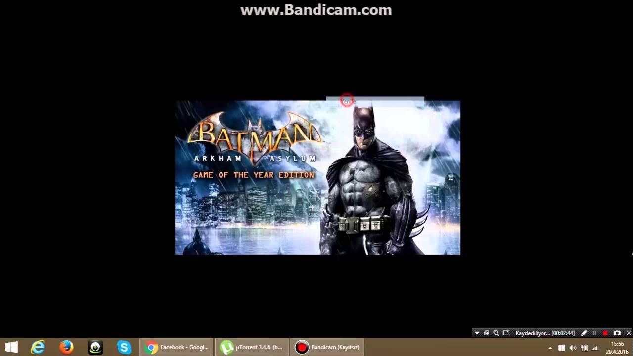batman arkham asylum torrentle indir