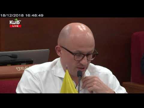 Телеканал Київ: 18.12.18 Пленарне засідання Київської міської ради ч.3