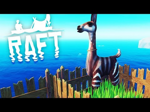 THE DOMESTICATED UPDATE! Raft Survival Gameplay Update 9