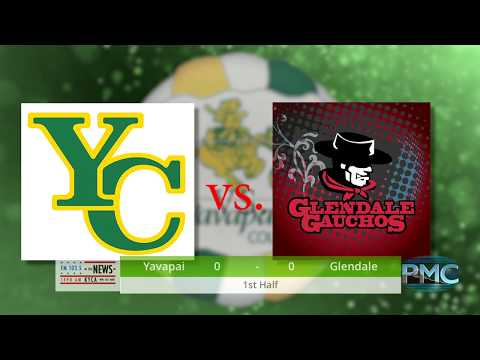 Yavapai College Men's Soccer vs Glendale Community College