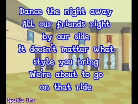 MLP: Friendship Games - Dance Magic - Lyric