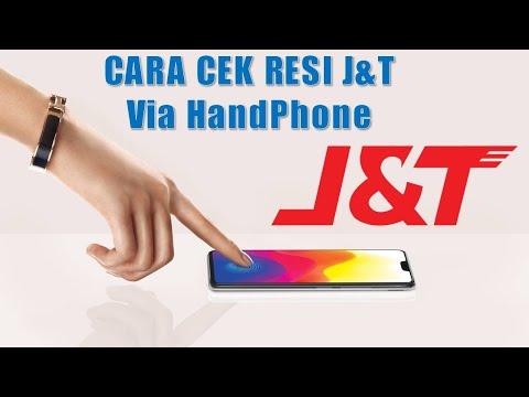 Cek Resi J&T Lewat HP