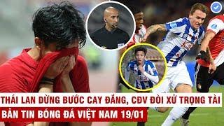 VN Sports 19/1 | U23 Thái Lan bị loại cay đắng-CĐV đòi xử Trọng Tài, Hậu dự bị Heerenveen thua trận