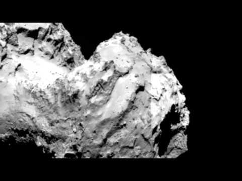 Rosetta Photographs Face On Comet