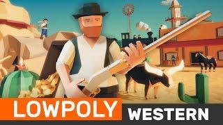 LOWPOLY - Western