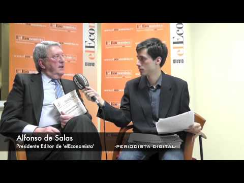 Alfonso De Salas, Presidente-editor De 'elEconomista'. 12-2-2014