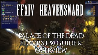 FFXIV Palace of the Dead Floors 1-50 Overview & Guide