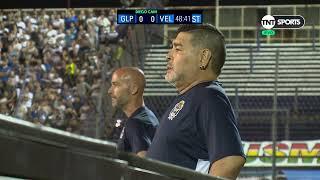 TNT Sports - Gimnasia vs Vélez, EN VIVO Diego Maradona en la Diego Cam