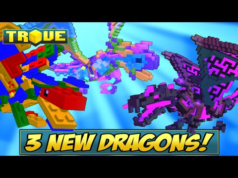 How to Get the NEW Pinata Dragon, Everdark Dragon, Lego Dragon in Trove