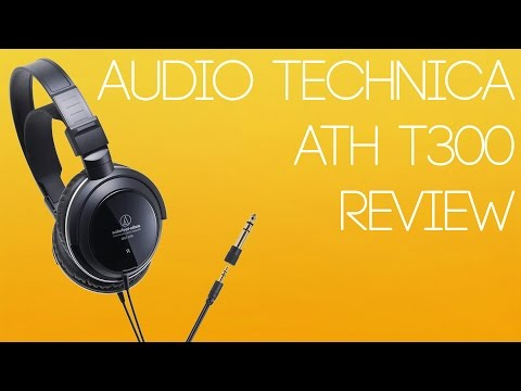 [REVIEW] Audio Technica ATH T300 Dynamic Stereo Headphones