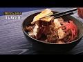 贅沢どんぶり!月見焼牛丼の作り方 【男飯】 の動画、YouTube動画。