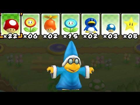 What happens when Kamek uses Mario's Power-Ups?
