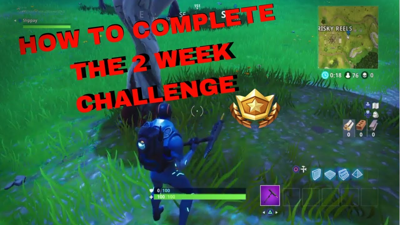 How to get tier max now in Fortnite week 2 challenges