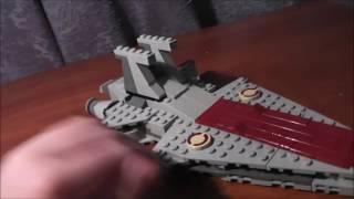 Lego Star Wars обзор на крейсер класса Venator
