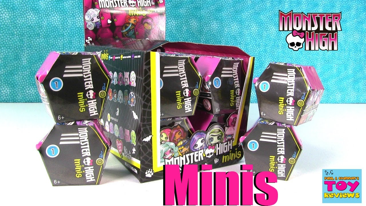 Monster High Minis Mattel Series Blind Box Coffin Lockers