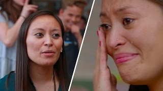 Middle School Teacher Gets The Surprise Of Her Life