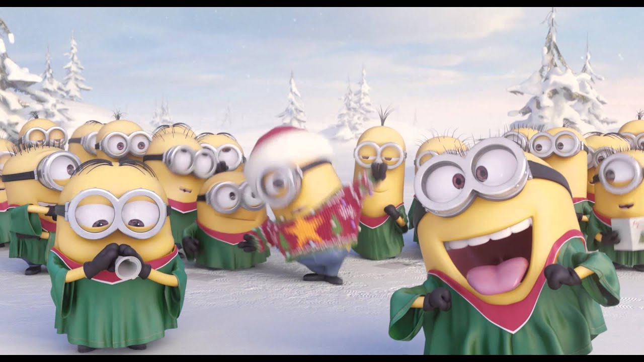MINIONS Go Caroling - Holiday Gift Card Offer - AMC Theatres - YouTube