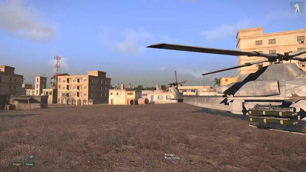 Arma 3 Mogadishu Map View