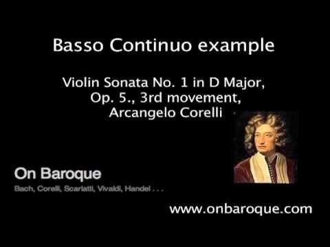 Basso Continuo Example (Corelli)