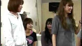 亀井絵里・高橋愛 - ファッショナブルのリハーサル モーニング娘。
