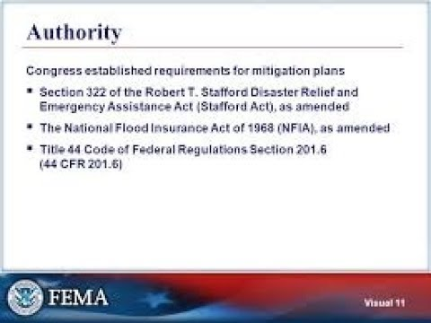 FEMA CODE FOR FLOOD DISASTERS IS... GUESS IT... 322 !!!