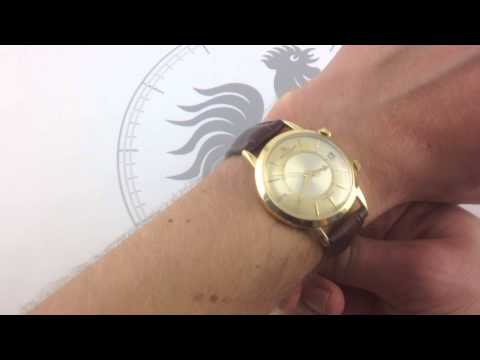 Jaeger-LeCoultre Memovox E855 Vintage Luxury Watch Review