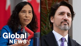 Coronavirus outbreak: Trudeau and Tam say Canada is slowing spread, but not 'out of the woods yet'