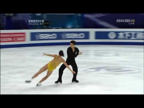 2011WC Ice Dancing Tessa Virtue and Scott Moir FreeDance