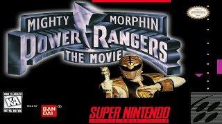PLATINANDO MIGHTY MORPHIN POWER RANGERS - THE MOVIE(SNES)