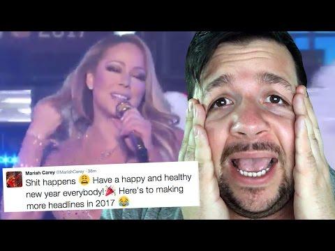 Mariah Carey NYE Performance Disaster