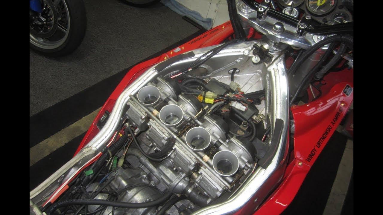 How To Install Iridium Plugs In Yamaha Fzr 1000 1991 Youtube