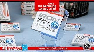 Akku IRON MAX von Global Technology für Samsung Galaxy J1 J100 EB-Bj100CBE