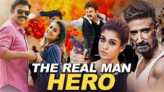 The Real Man Hero (HD) | Venkatesh| Nayantara | Shriya | South Indian Dubbed Movie
