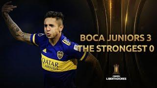 Boca Juniors vs. The Strongest [3-0]   RESUMEN   Fecha 6   CONMEBOL Libertadores 2021