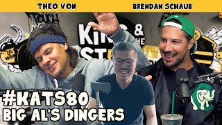 Big Al's Dingers | King and the Sting w/ Theo Von & Brendan Schaub #80