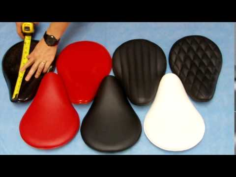 Ryca Motors Bobber Vinyl Solo Seat Options