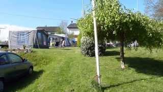 Vakantie Moezel (Pünderich), beelden van camping Mariënburg