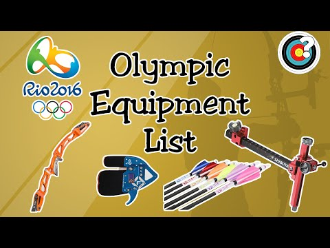 Archery | Rio 2016 Olympics Equipment List