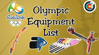 Archery | Rio 2016 Olympics Equipment List