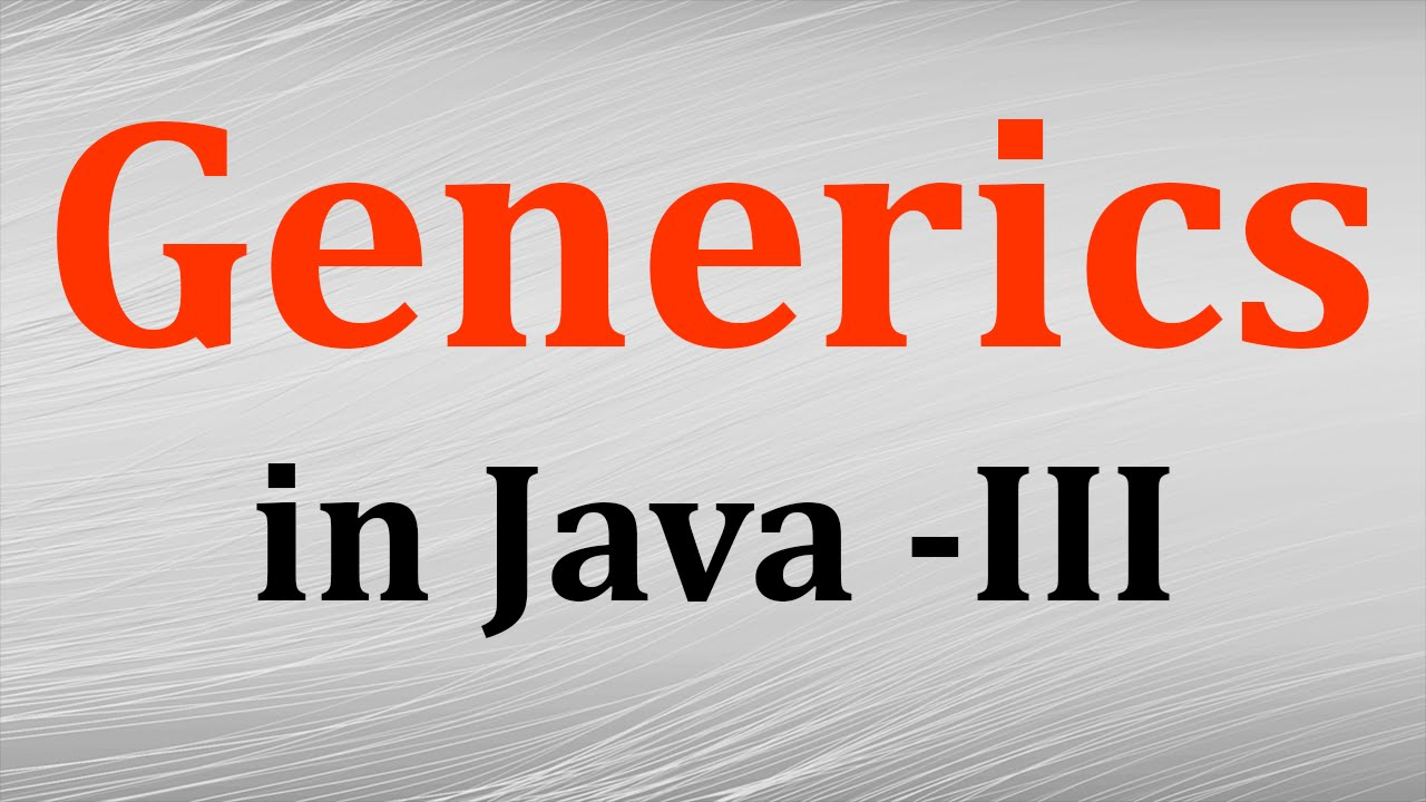 Generics in java tutorial # 5 wildcards and subtyping in.