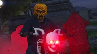 GTA 5 Online - THE GREAT PUMPKIN KILLER MASSACRE! (Part 1) (GTA V Online)
