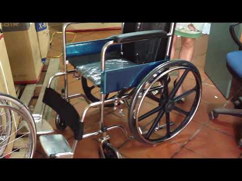 Xe lăn Lucass X9B vành bánh đúc