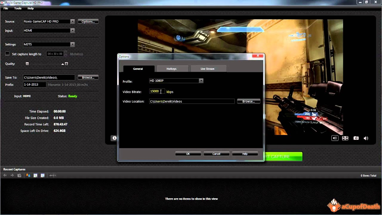roxio game capture hd pro instructions